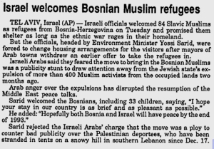 israel-welcomes-bosnian-muslim-refugees