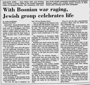 Jews with Muslims Bosnia