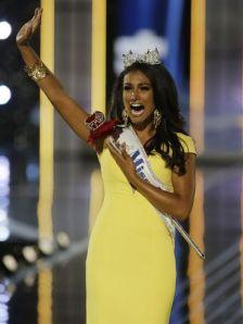 Miss America anfas