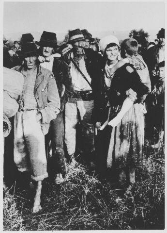 Kozara villagers Jasenovac