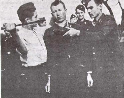 Ustase ubijaju Srbina