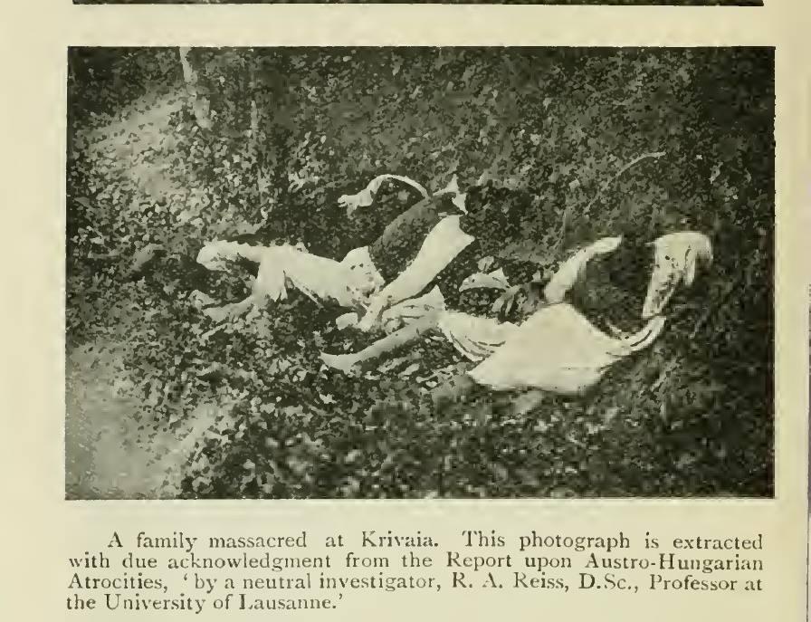 WW I – The Krivaja massacre