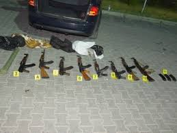 Albanian diplomats and consulate workers and weapon smuggling business