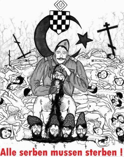 Germ prop g nd ll Serbs must die