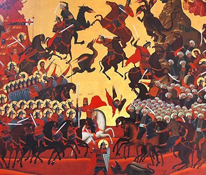 Kosovo battle spiritual significance. Ethic Codex of Saint Vid's day /28. June 1389.
