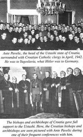 NDH katoličke časne sestre i crkva Naci
