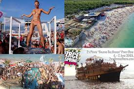 Zrće beach, Pag island near a WW II Nazi death camp: Croatian Ibiza on the site ofgenocide