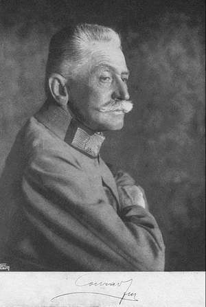 Conrad von Hetzendorf, the General who demanded war on Serbia 25 times in a year