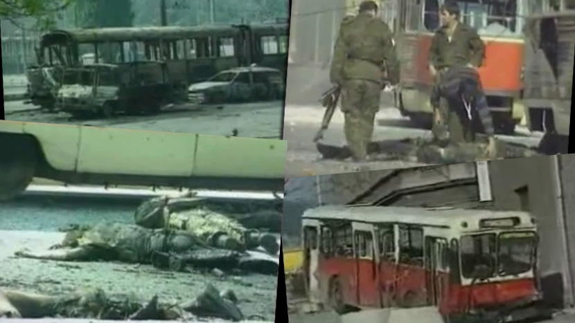 May 3, 1992, one of the bloodiest massacres in Bosnia: Mass killing of Serbs in Sarajevo, Dobrovoljacka street