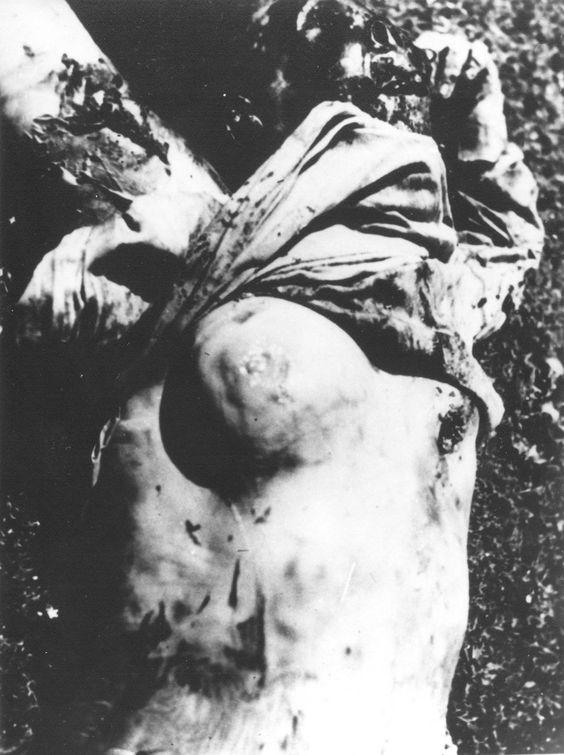 Ubijena žena RIste RAdojičića kojoj su ustaše odsekle dojku