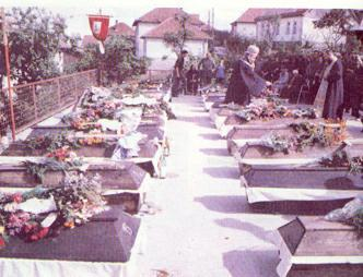 6. November 1992. The massacre of 126 soldiers and about 200 Serb civilians by so-called Bosnian Muslims