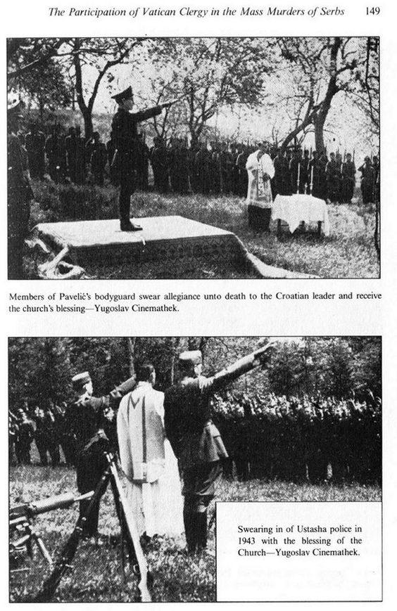 Katolici masovno ubijanje Srba